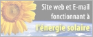 Website Powered by Solar Energy!